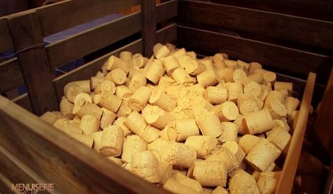 caisse briquettes copeaux recycles
