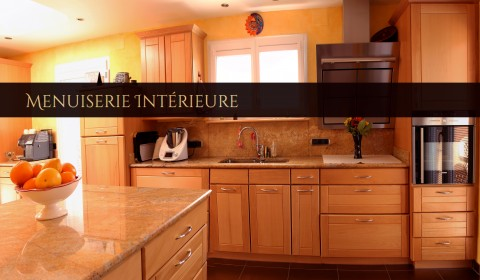 cuisine menuiserie interieure
